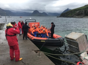 Rib boat wildlife trip Skye