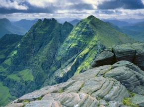 The magnificent mountain 'An Teallach' in north west Scotland
