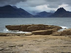 The dramatic Black Cuillin mountains