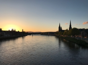 Inverness at Sunset