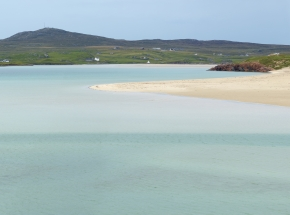 Beautiful beach on Lewis