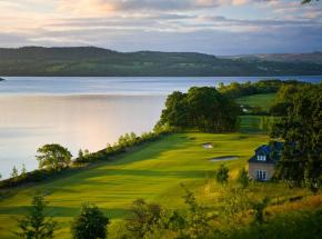 Spectacular golf course by Loch Lomond