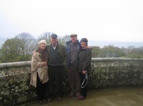 Carolyn, Gary, Carl and Bert, USA