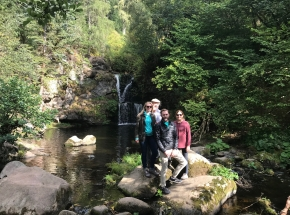 Secret waterfalls near Aberlour...