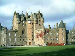 The magnificent Glamis Castle