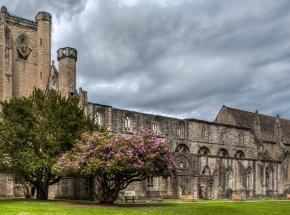 The ancient and romantic Dunkeld Cathedral