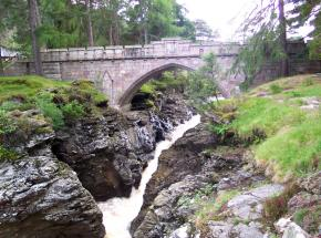 Linn of Dee, Mar Lodge Estate