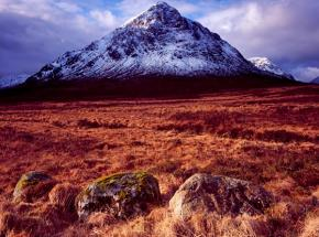 Approach to the magnificent Glencoe