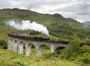 Jacobite Steam Train at Glenfinnan