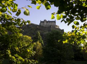 Edinburgh Castle in Autumn